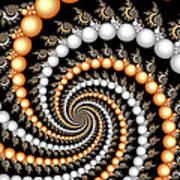 Elegant Swirls Art Print