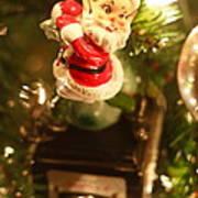 Elf On A Camera Print by Toni Hopper