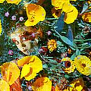 Elfin Child Of Poppies Art Print by Cyoakha Grace