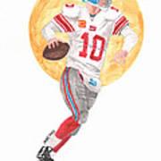 Eli Manning Superbowl Xlvi Mvp Art Print