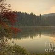 Elk Creek Reservoir Art Print