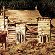 Elkhorn Montana Art Print