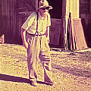 Elwood - Farmer Art Print