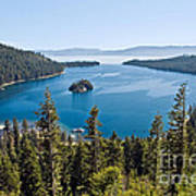 Emerald Bay Morning Art Print