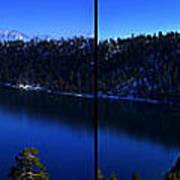 Emerald Bay Panorama Lake Tahoe Art Print