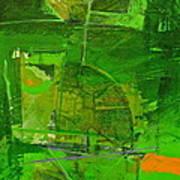 Emerald Green Tobor Art Print