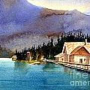 Emerald Lake Lodge B.c Art Print