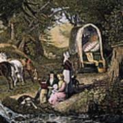 Emigrants: Appalachians Art Print