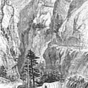 Emigrants To The West, 1865 Art Print