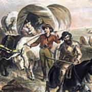 Emigrants To West, 1874 Art Print