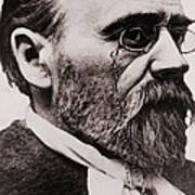 Emile Zola 1840-1902, French Novelist Art Print