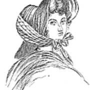 Emily Bront� (1818-1848) Art Print by Granger
