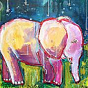 Emily's Elephant 1 Art Print