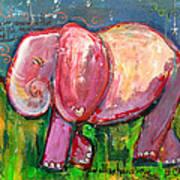 Emily's Elephant 3 Art Print