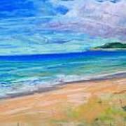 Empire Beach Art Print by Lisa Dionne