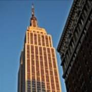 #empire #newyorker #newyork #ny Art Print
