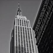 #empirestate #empire #usa #newyorker Art Print