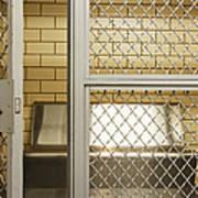 Empty Jail Holding Cell Art Print