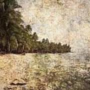 Empty Tropical Beach 2 Art Print