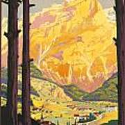 En Tarentaise - Vintage French Travel Art Print