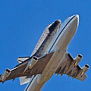 Endeavour's Last Flight Art Print
