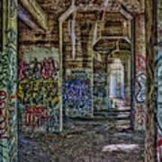 Endless Graffiti Art Print