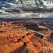 Endless Utah Canyons Art Print