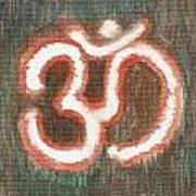 Energy Symbol Om Aum Art Print