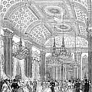 England - Royal Ball 1848 Art Print