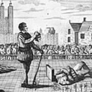 England: Beheading, 1554 Art Print