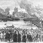 England: Boat Race, 1869 Art Print