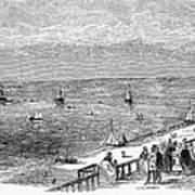 England: Brighton, 1853 Art Print