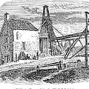 England: Coal Mining Art Print