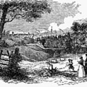 England: Manchester, 1842 Art Print