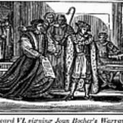 England: Martyr, 1550 Art Print by Granger