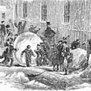 England: Winter, 1855 Art Print