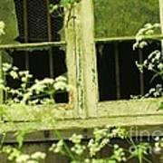 English Countryside Window Art Print