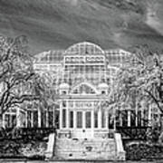 Enid A Haupt Conservatory  Art Print
