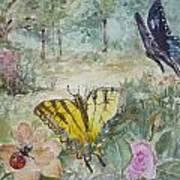 Enter The Garden Art Print by Dorothy Herron