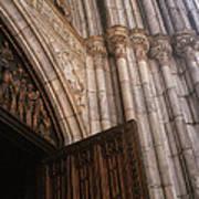 Entrance To St. Patrick's  Art Print