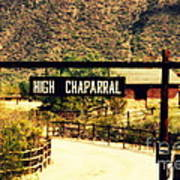 Entrance To The High Chaparral Ranch Art Print