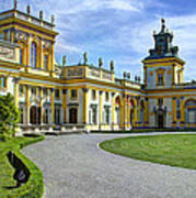 Entrance To Wilanow Palace - Warsaw Art Print