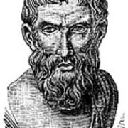 Epicurus (343?-270 B.c.) Art Print