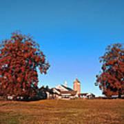 Erdenheim Farm In Autumn Art Print