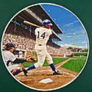 Ernie Banks Art Print