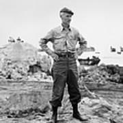 Ernie Pyle (1900-1945). American Journalist. Photograph, C1942 Art Print