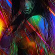 Erotic Explosions Art Print
