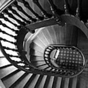 Escalier  Art Print
