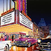 Esquire Theater Art Print