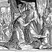 Esther & Ahasuerus Art Print